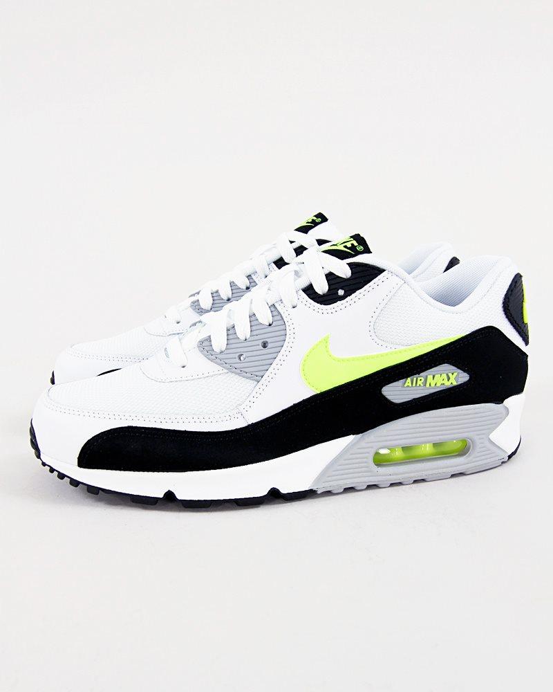 check out 40568 d230e Nike Air Max 90 Essential svart, vit, lime, skor, street, ...