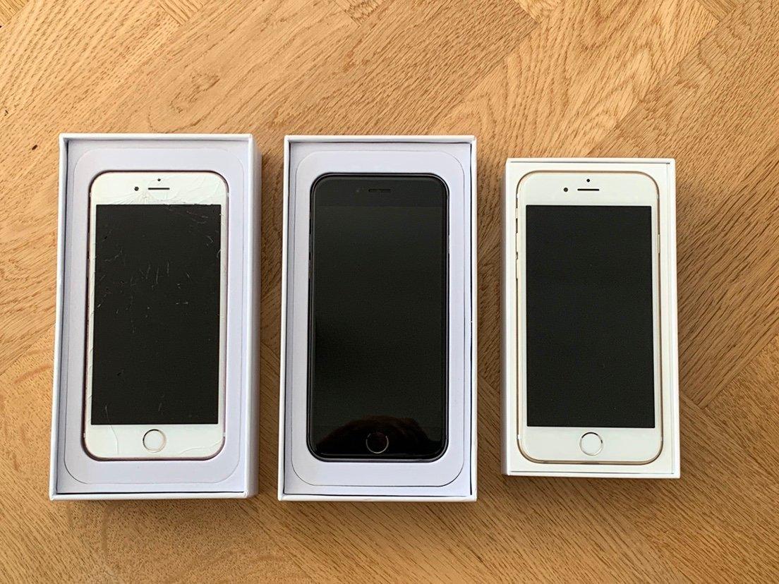 iphone 6s säljes