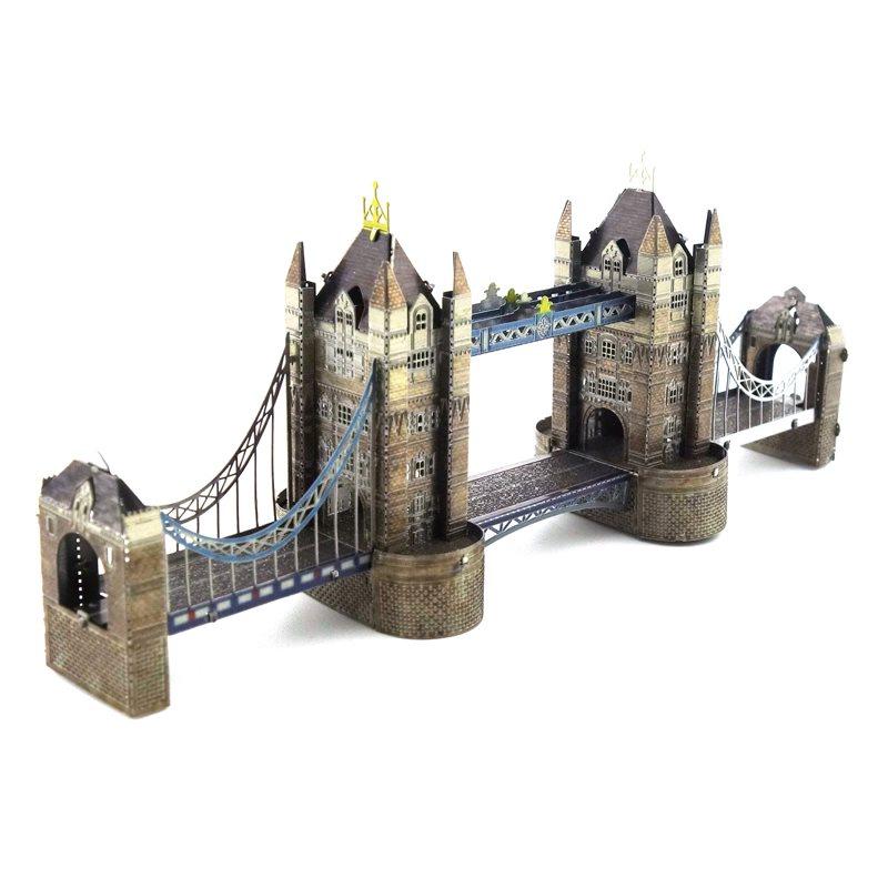 3D Pussel Metall Tower Bridge Färg