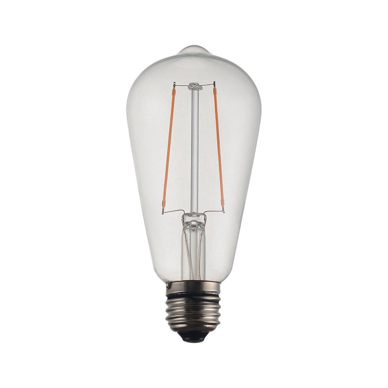 2 st LED lampa 2 Watt Edison (420913509) ᐈ Unik inredning