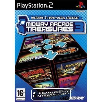 MIDWAY ARCADE TREASURES 3 (Nytt) till Sony Playstation 2, PS2