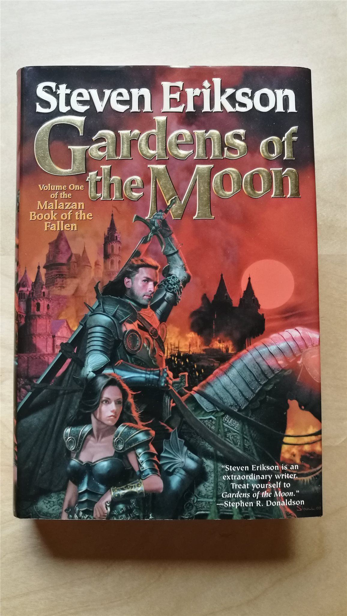 Gardens of of of the Moon - Steven Erikson 504d10