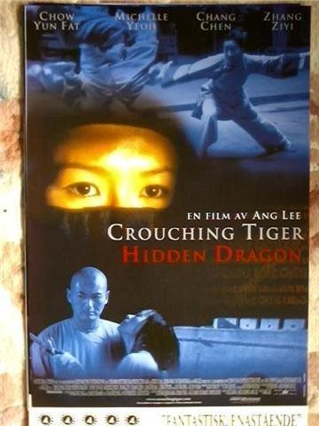 CROUCHING TIGER,HIDDEN DRAGON   ÅR 2000