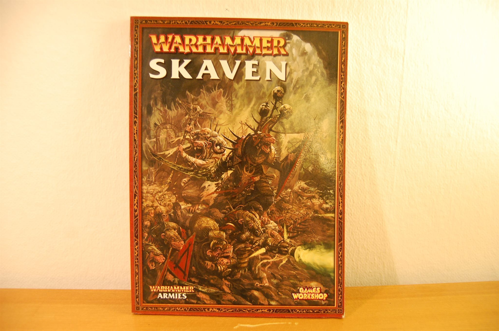 Army edition 8th skaven book