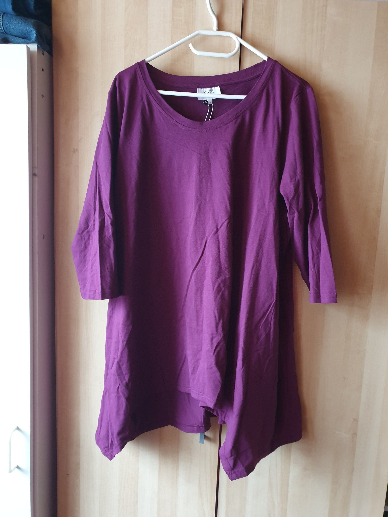 cfa0816b0ee1 Ny lila tunika från Zizzi (347280933) ᐈ Köp på Tradera