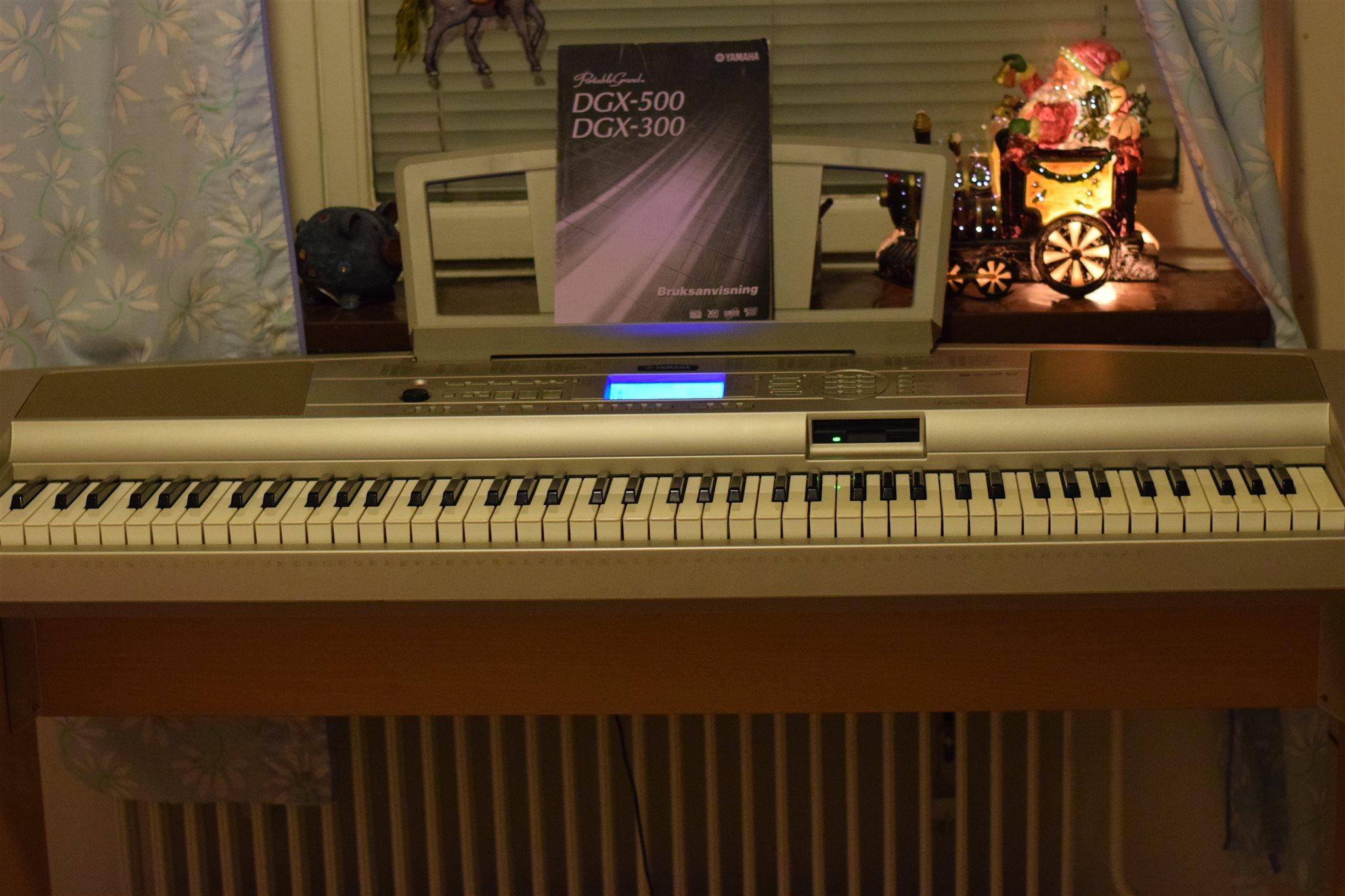 Yamaha dgx 300 инструкция