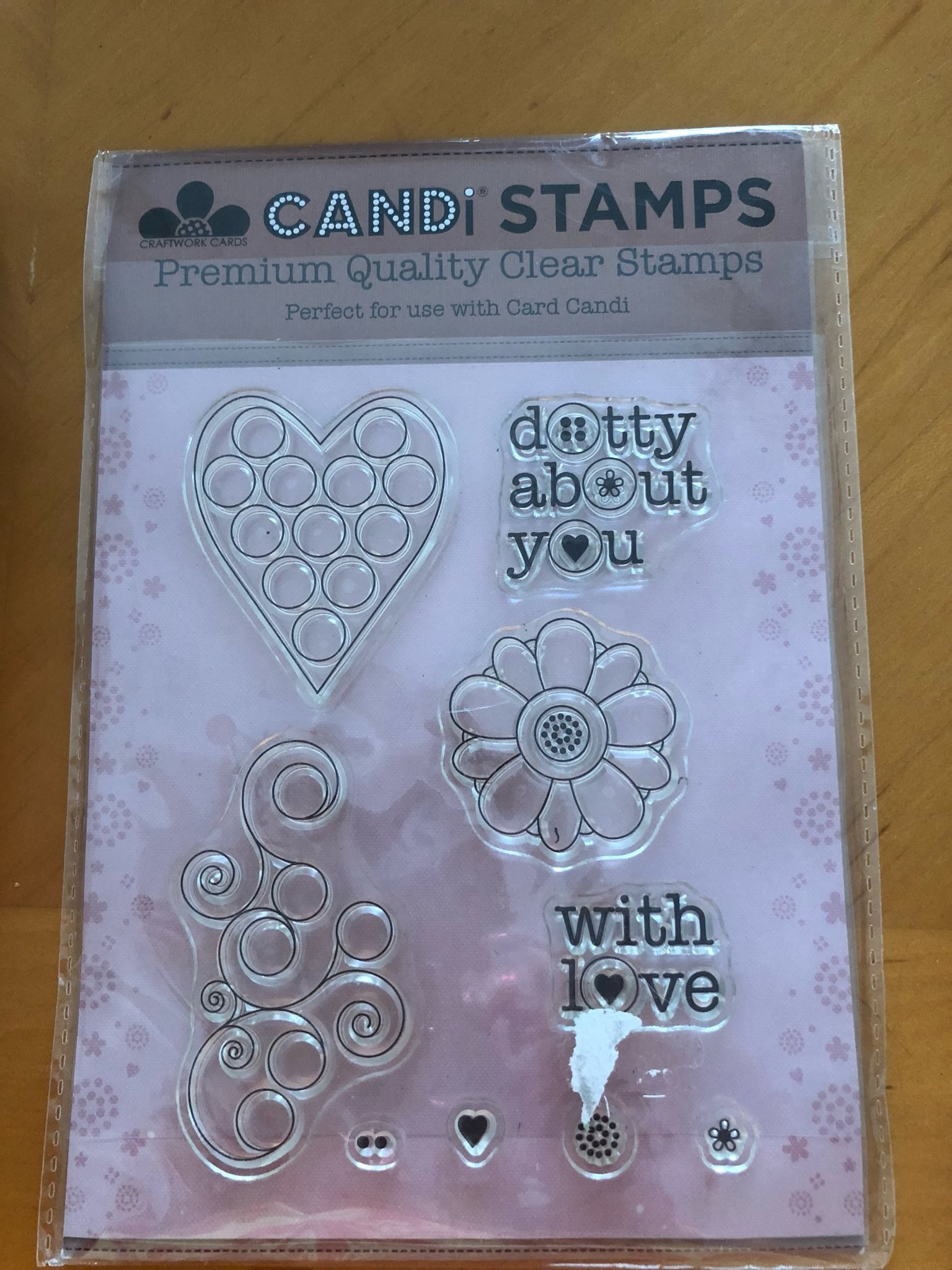 Candi stamps  Dotty About You clearstamps