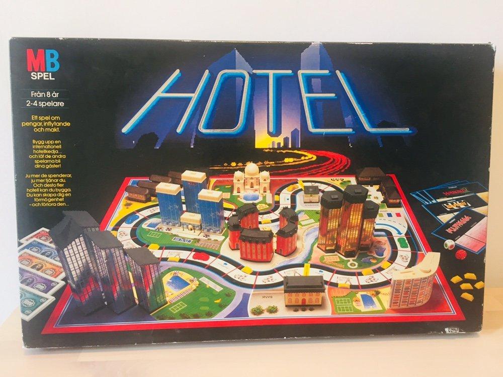Goede Hotel - Sällskapsspel från MB spel - retro (352234579) ᐈ Köp på OD-31