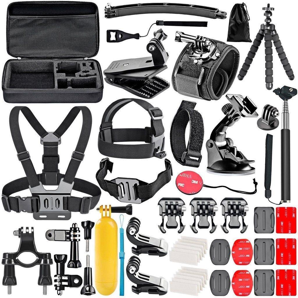 GoPro Kit 2 med 43 Delar + Väska
