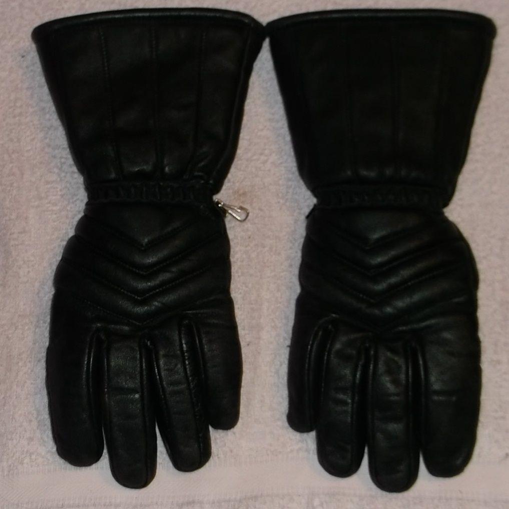 908a87ee587 Skinnhandskar svarta storlek 9 långa skaft Hand.. (281817811) ᐈ Köp ...