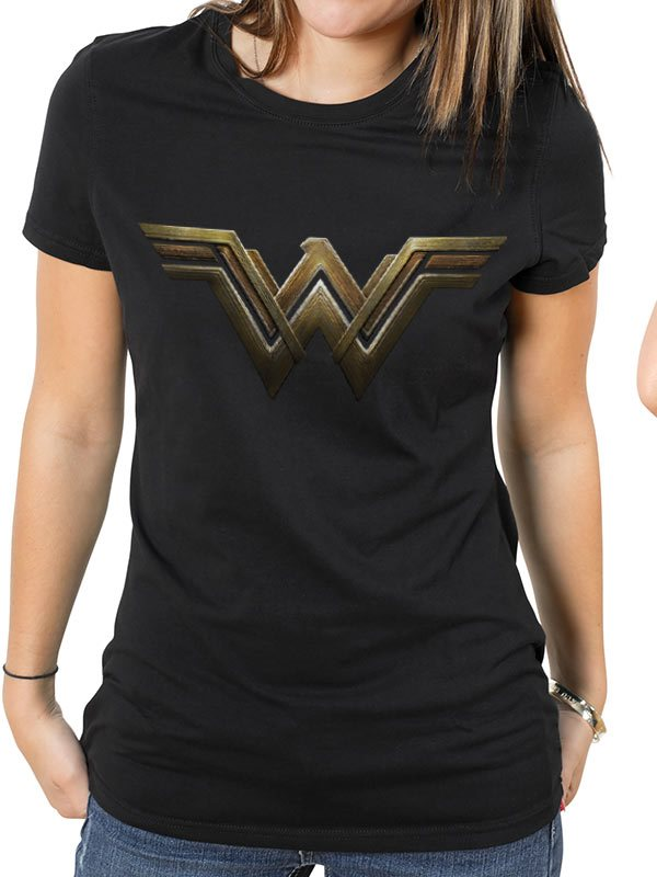 WONDER WOMAN MOVIE - MAIN LOGO T-Shirt - Medium