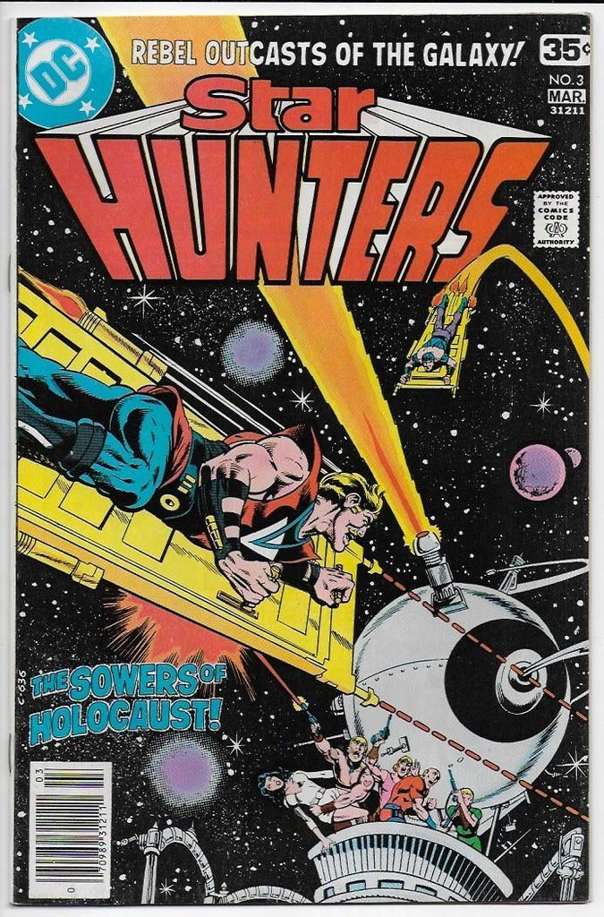 Star Hunters # 3 VF-NM
