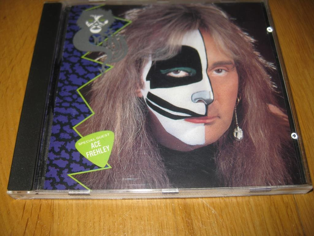 PETER CRISS - Cat #1 CD 1994 / Ace Frehley / Kiss