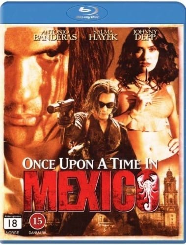 Once Upon a Time in Mexico (blu-ray) ***NY/INPLASTAD***