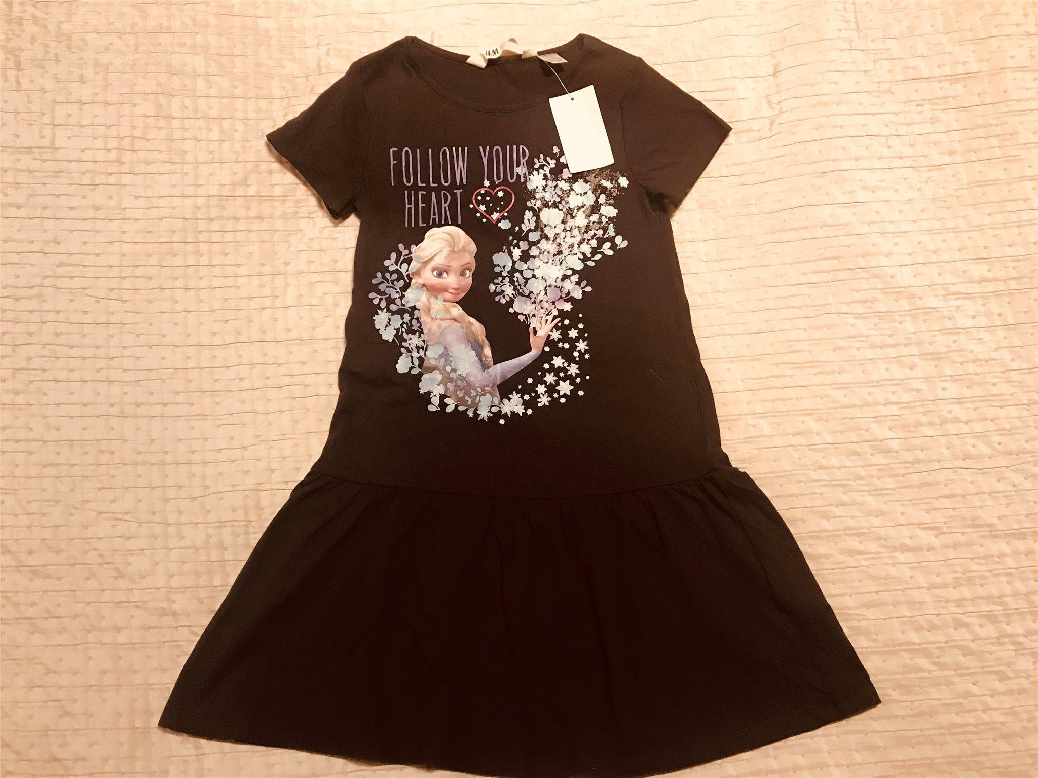 Jättefin svart klänning Frozen Frost Elsa Anna .. (335458533) ᐈ Köp ... 982b0c428bc35