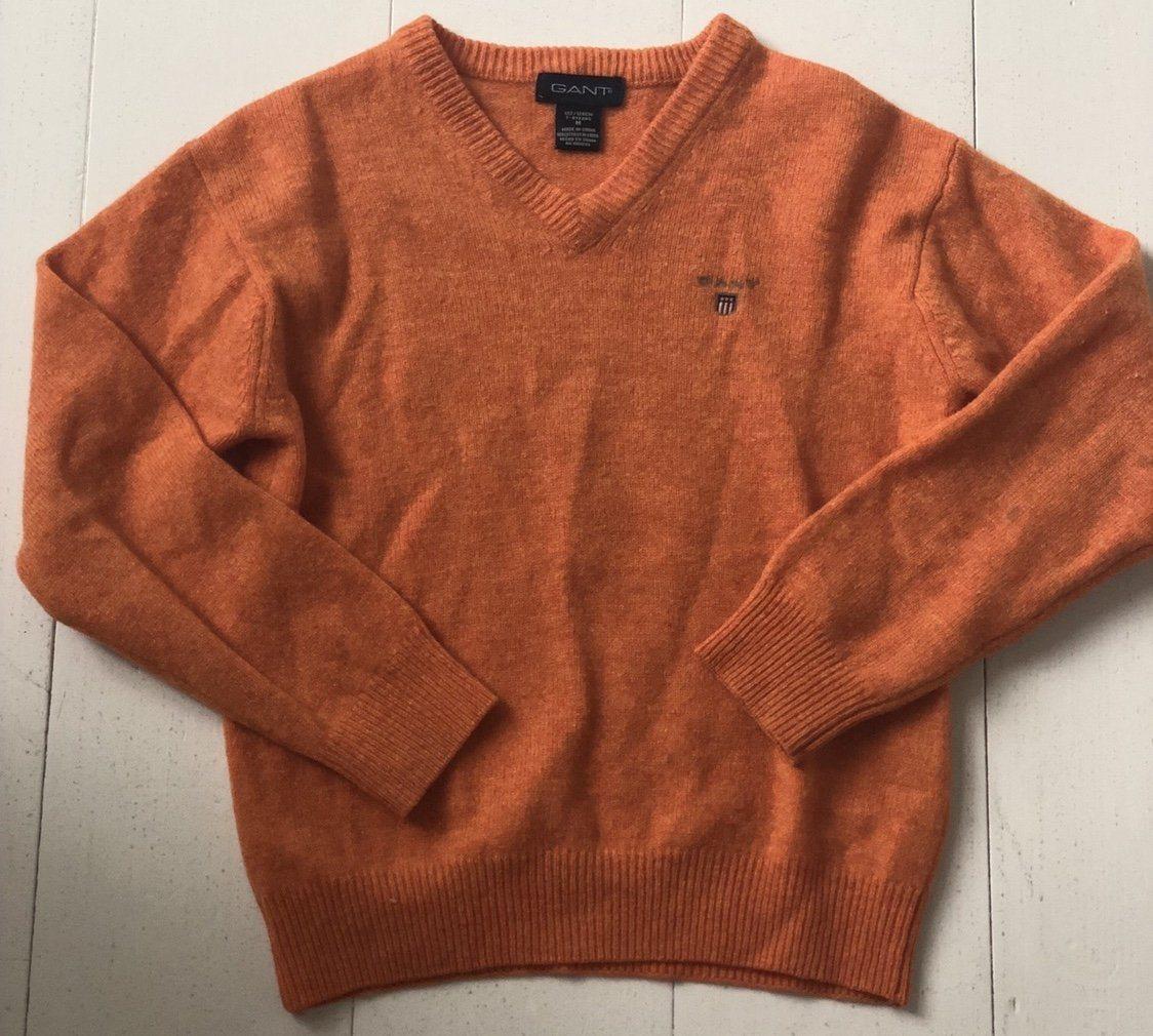 gant orange tröja