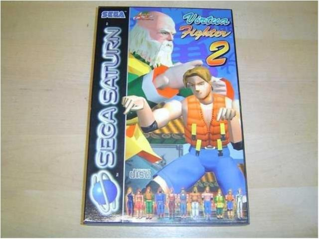 VIRTUA FIGHTER 2 SEGA SATURN PAL *NYTT*
