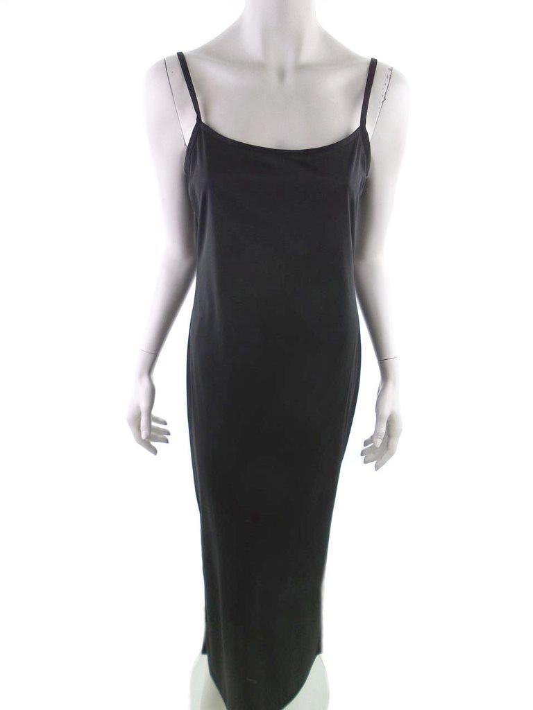 Lång svart klänning dd242875c44c0