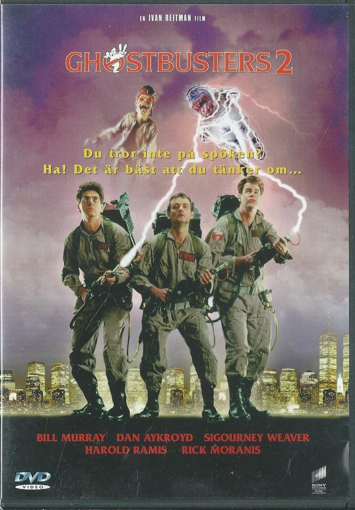 GHOSTBUSTERS  2  (SVENSKT TEXT )