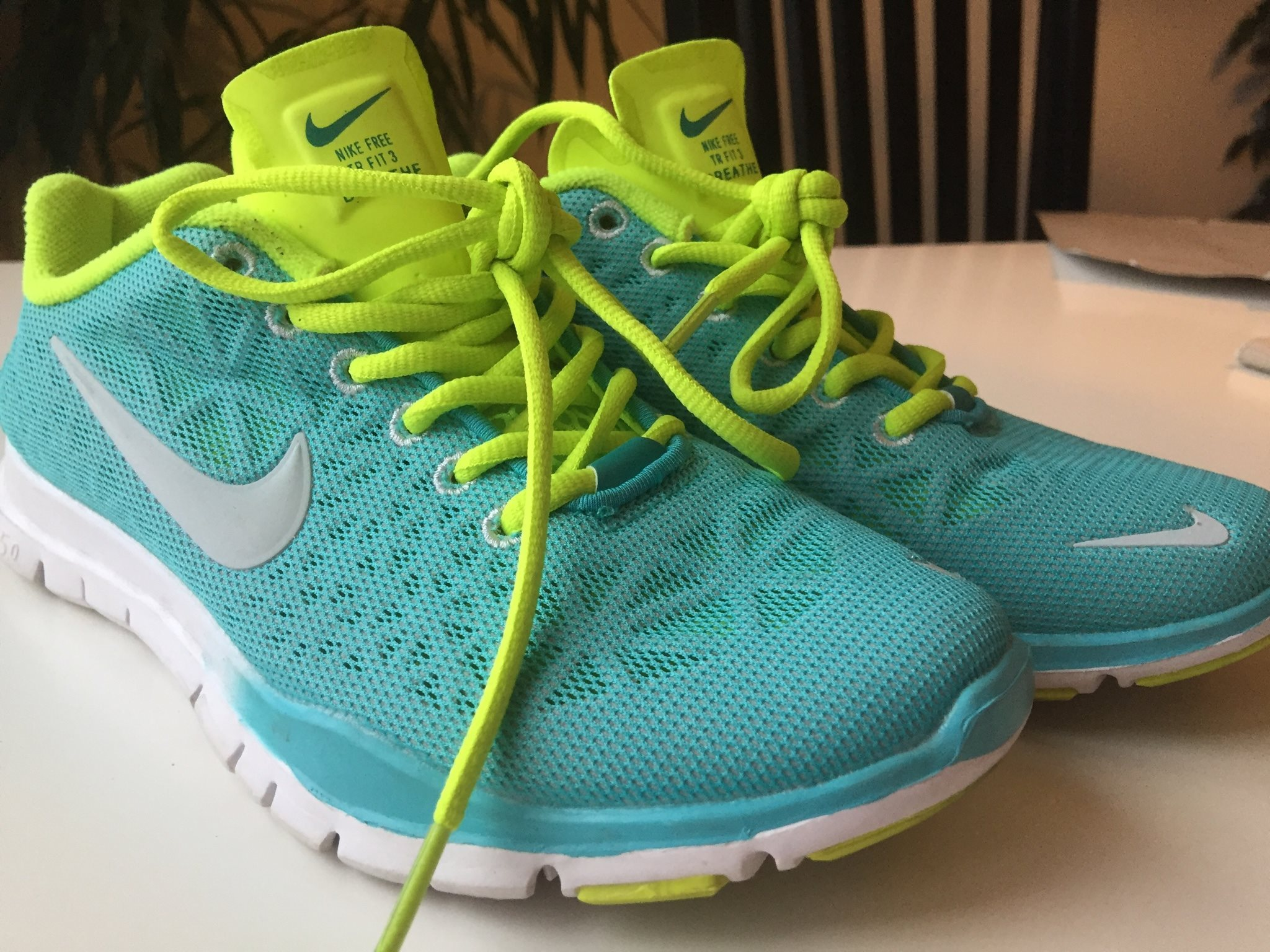 new product 1adef 10ae0 finest selection 448ac 339b2 turkosa nike skor  premium selection 5f931  a4612 Turkosa Nike Free 5.0, stl 38, fint skick,knappt