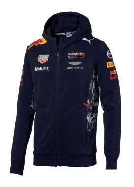 Hoodie Puma - Mobil 1 - Aston Martin Red Bull Racing Formula 1 Team - X-Large