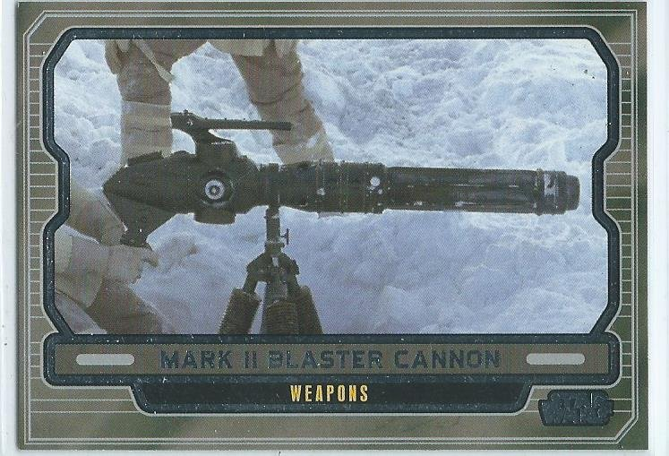 MARK II  BLASTER CANNON (STAR WARS SAMLARBILD )