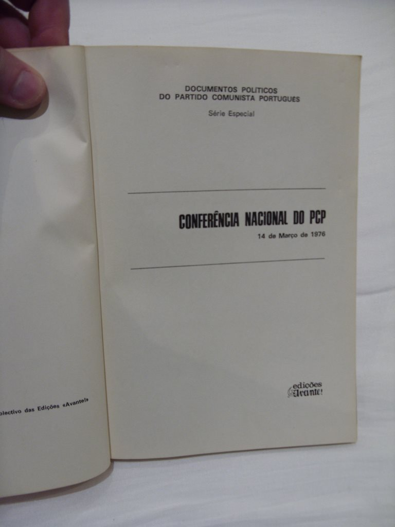 Conferencia National PCP Portugal Kommunist Parti 1976 1976 1976 666bcd