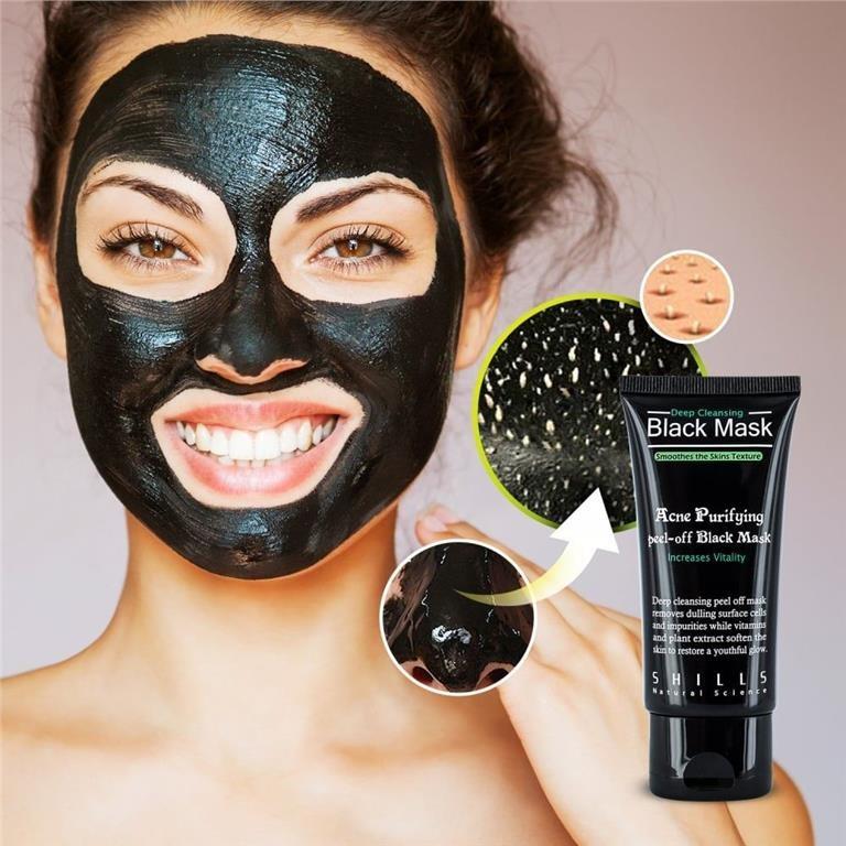 ansiktsmask för pormaskar