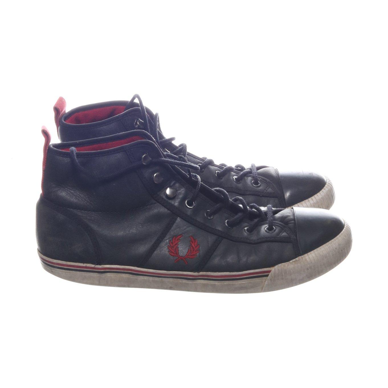 10bc4d4e8986 Fred Perry, Sneakers, Strl: 45, Svart, Skinn (354808500) ᐈ Sellpy ...