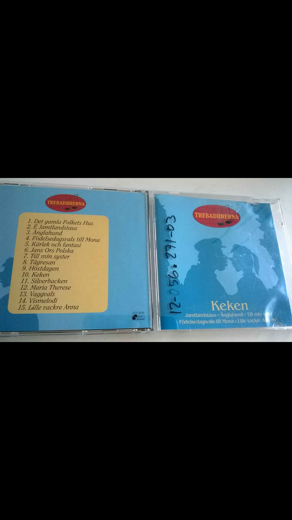 Trebadurerna - Keken, CD, very rare!