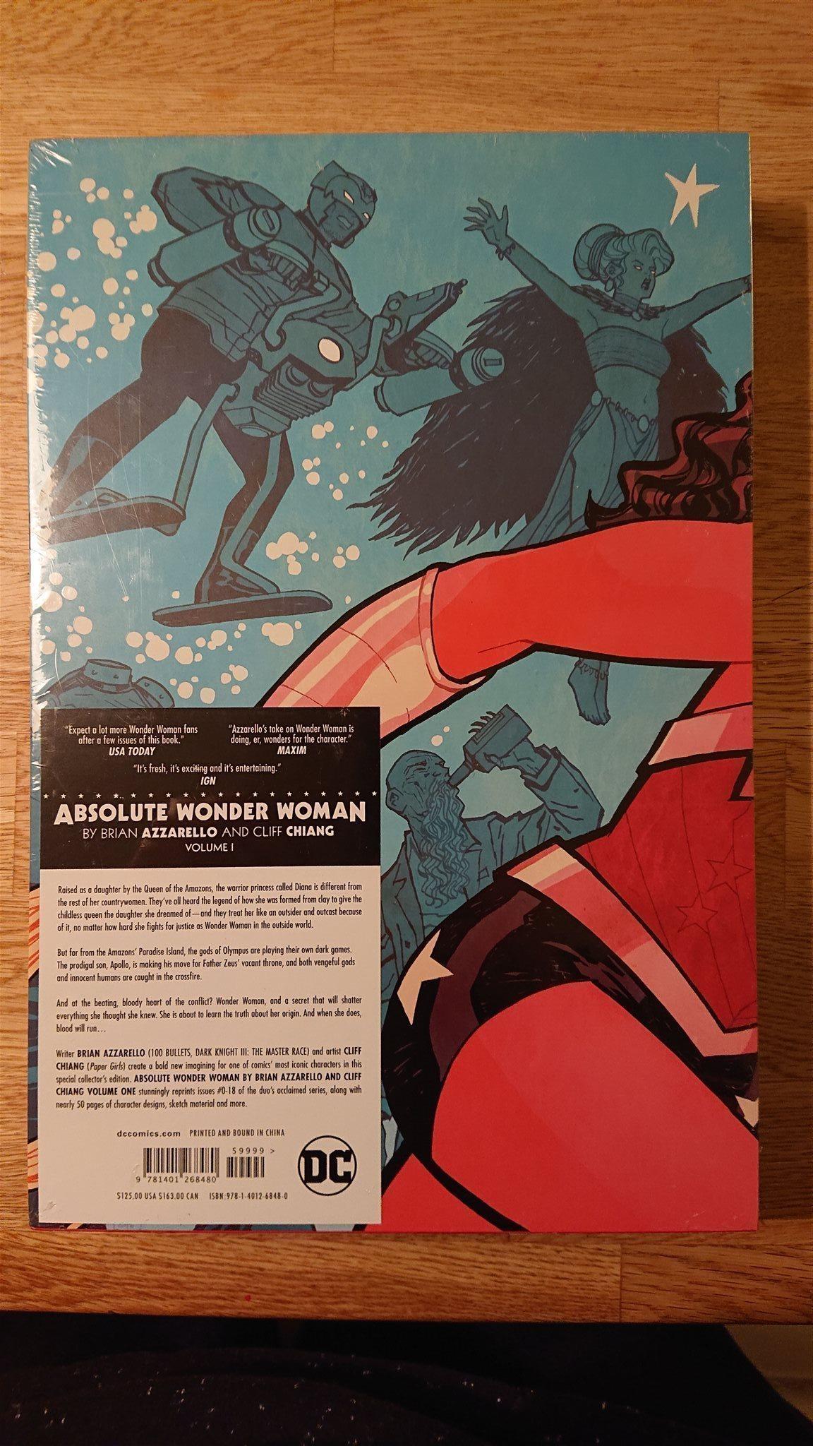Absolute Wonder Woman. Ny och inplastad. inplastad. inplastad. aa02a7