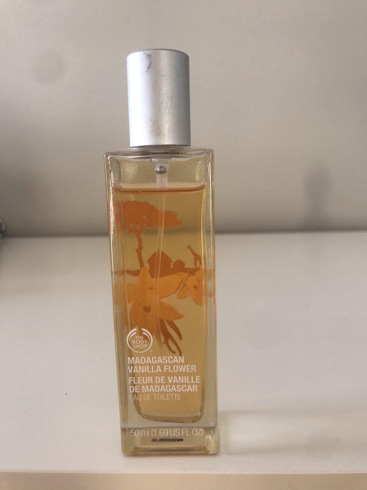 vanilj parfym body shop