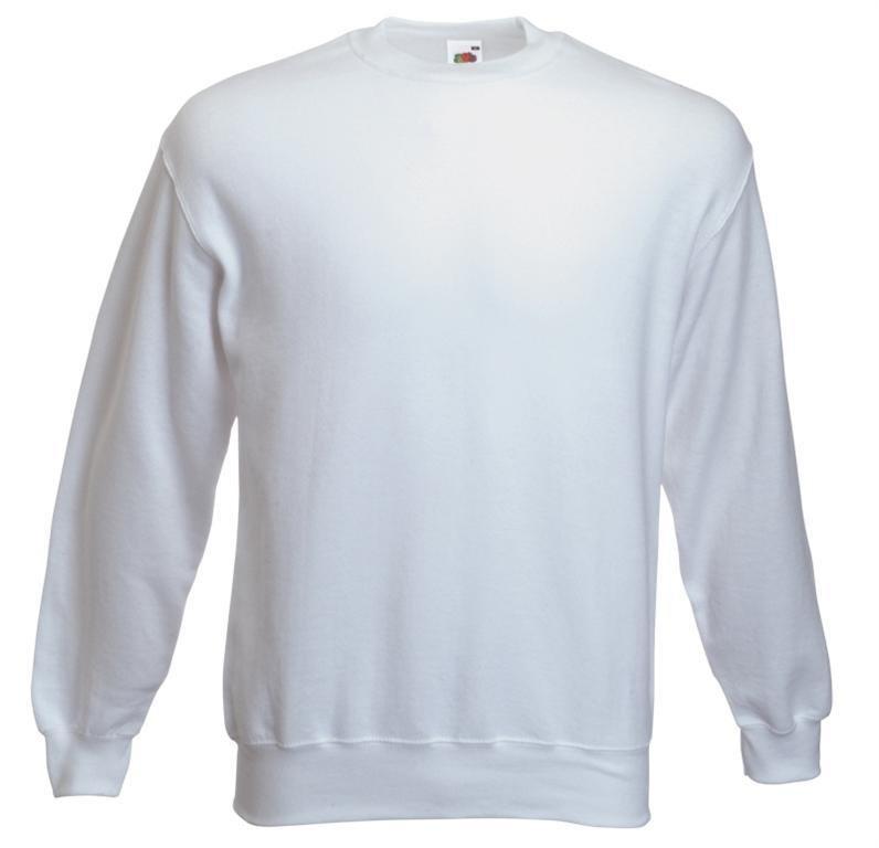 Sweatshirt F324NJ- vit vit vit storlek L 9cbee6