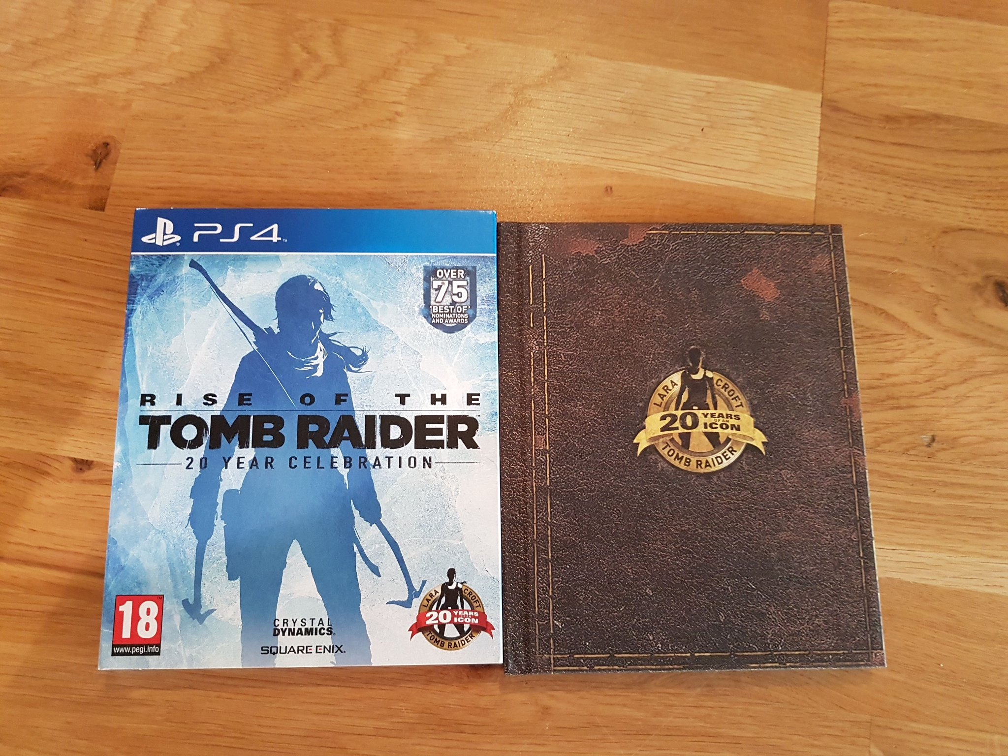 PS4. Rise Of The Tomb Raider. 20 Year Celebration.