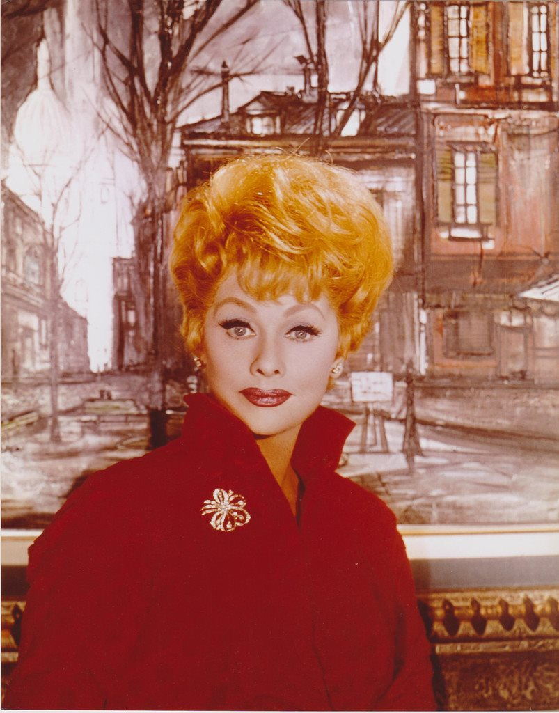 LUCIELLE BALL ACTRESS FILM & TELEVISION PHOTOGRAPH 20 x 25cm FOTO