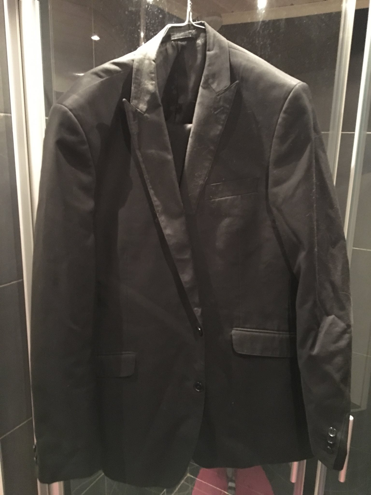 Kostym svart battistini storlek 54 (334216548) ᐈ Köp på Tradera a00fafdbffe85