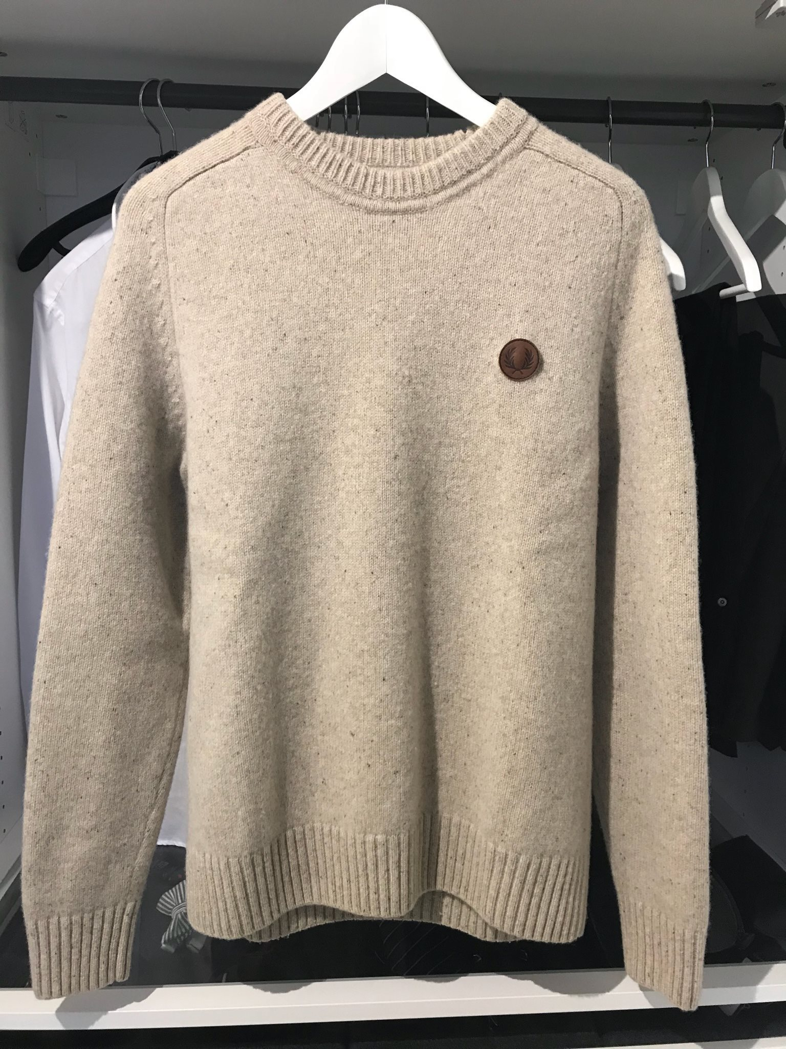 fred perry storleksguide
