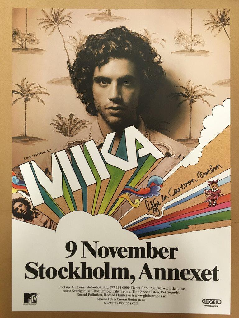 Mika pa annexet i stockholm