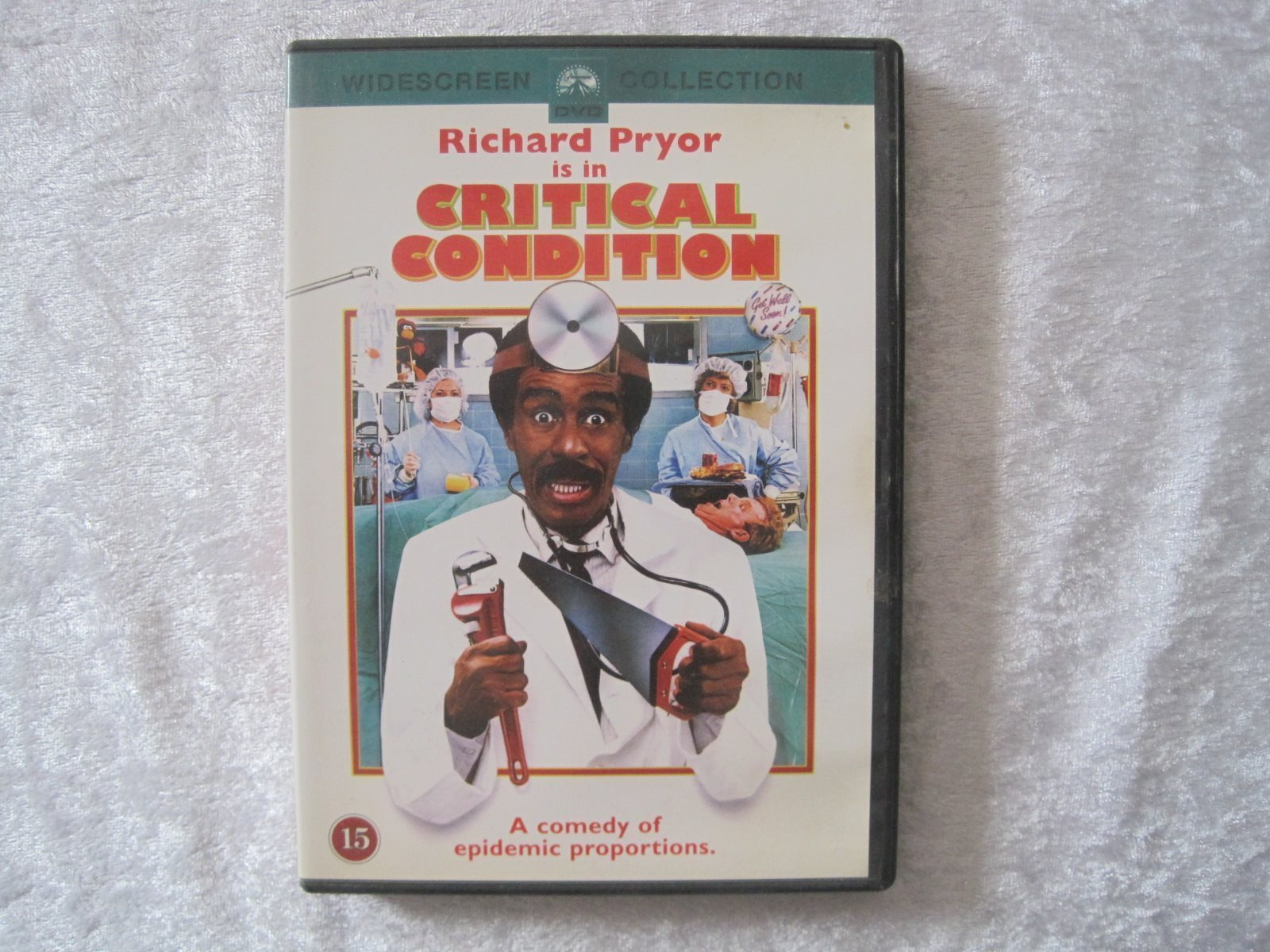 Critical Condition (Richard Pryor) svensk text
