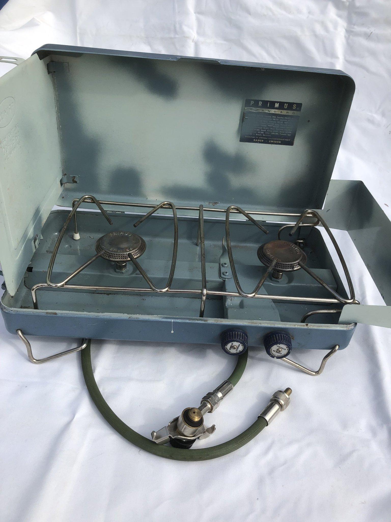Strålande CAMPINGKÖK Gasol Primus 2 brännare (361126778) ᐈ Köp på Tradera BG-86