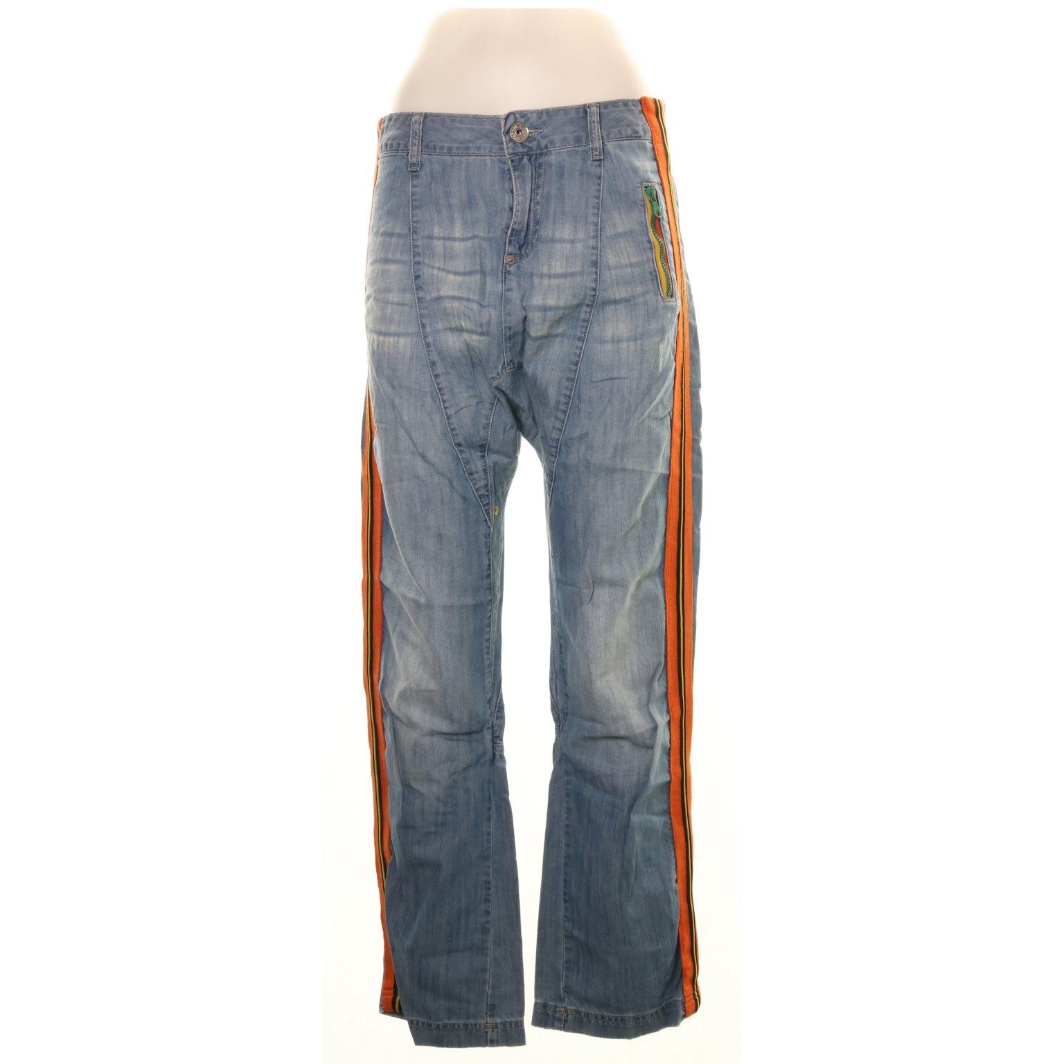 81d769dd Replay, Jeans, Strl: 28, Blå/Flerfärgad (337968712) ᐈ Sellpy på Tradera