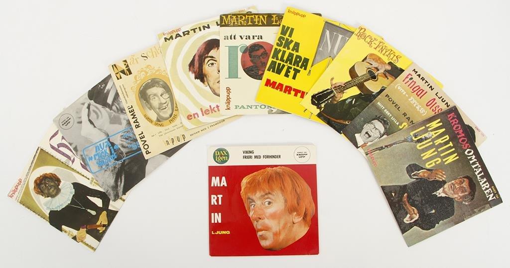 POVEL RAMEL, MARTIN LJUNG, EP/singlar, 90 st. | Barnebys