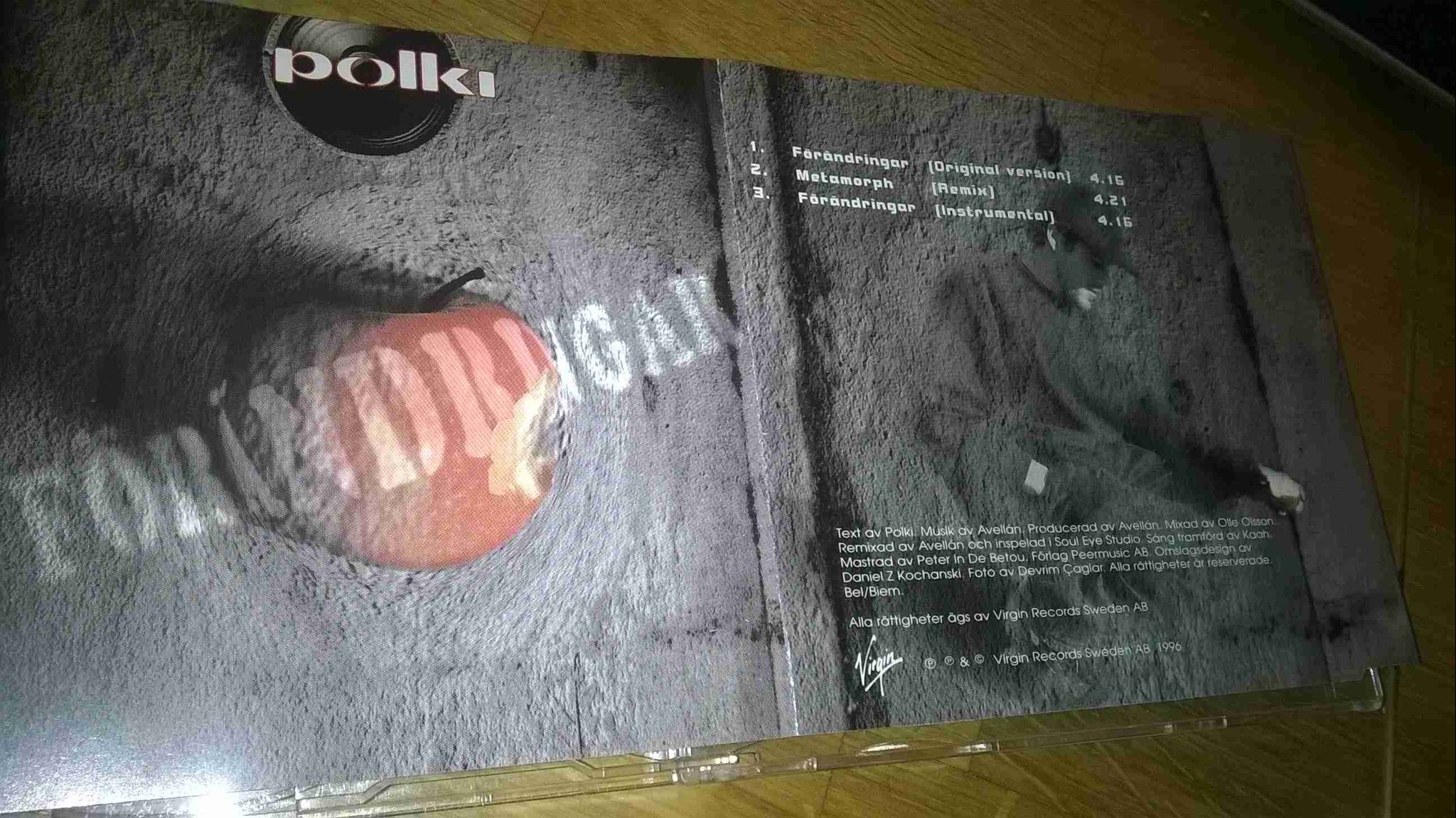 Polki ?– Förändringar,CD, Maxi-Single