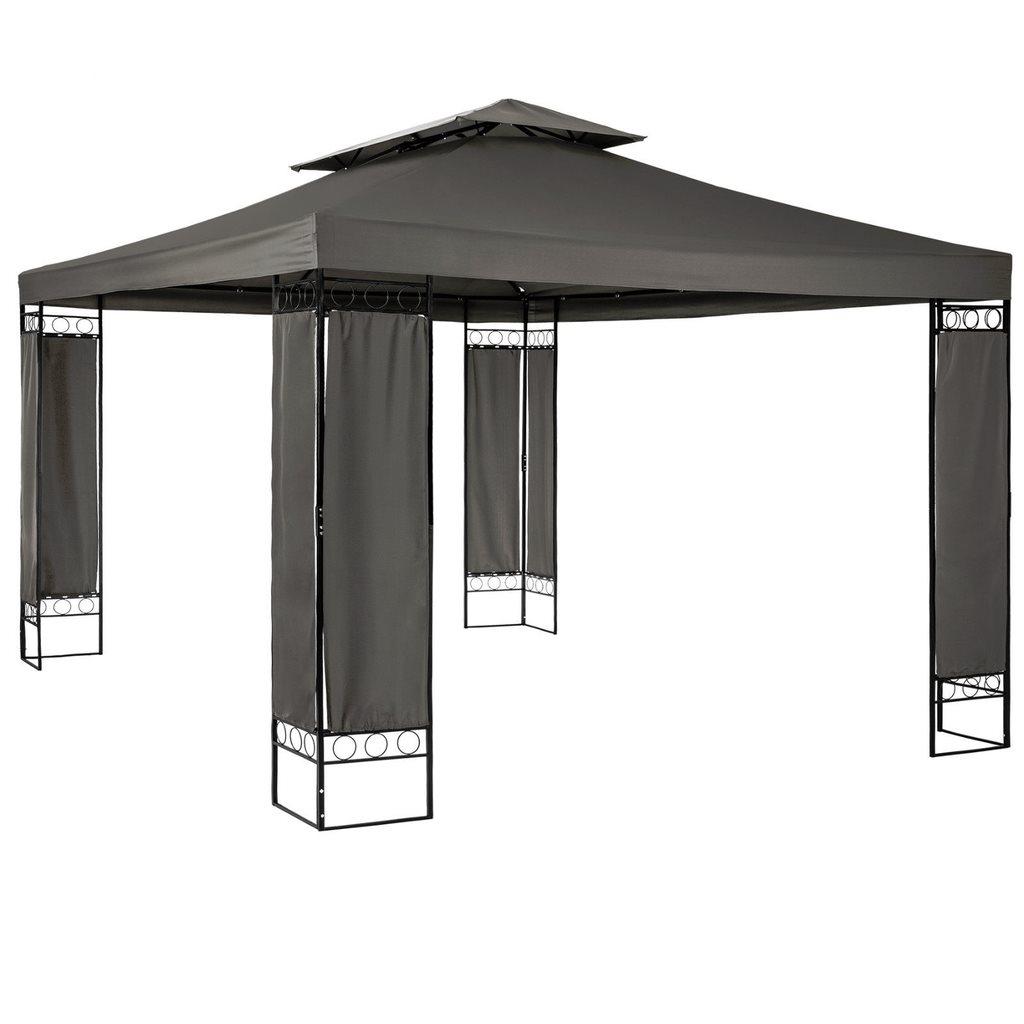 partyt lt paviljong t lt 4x3 antracit ny p utem bler. Black Bedroom Furniture Sets. Home Design Ideas