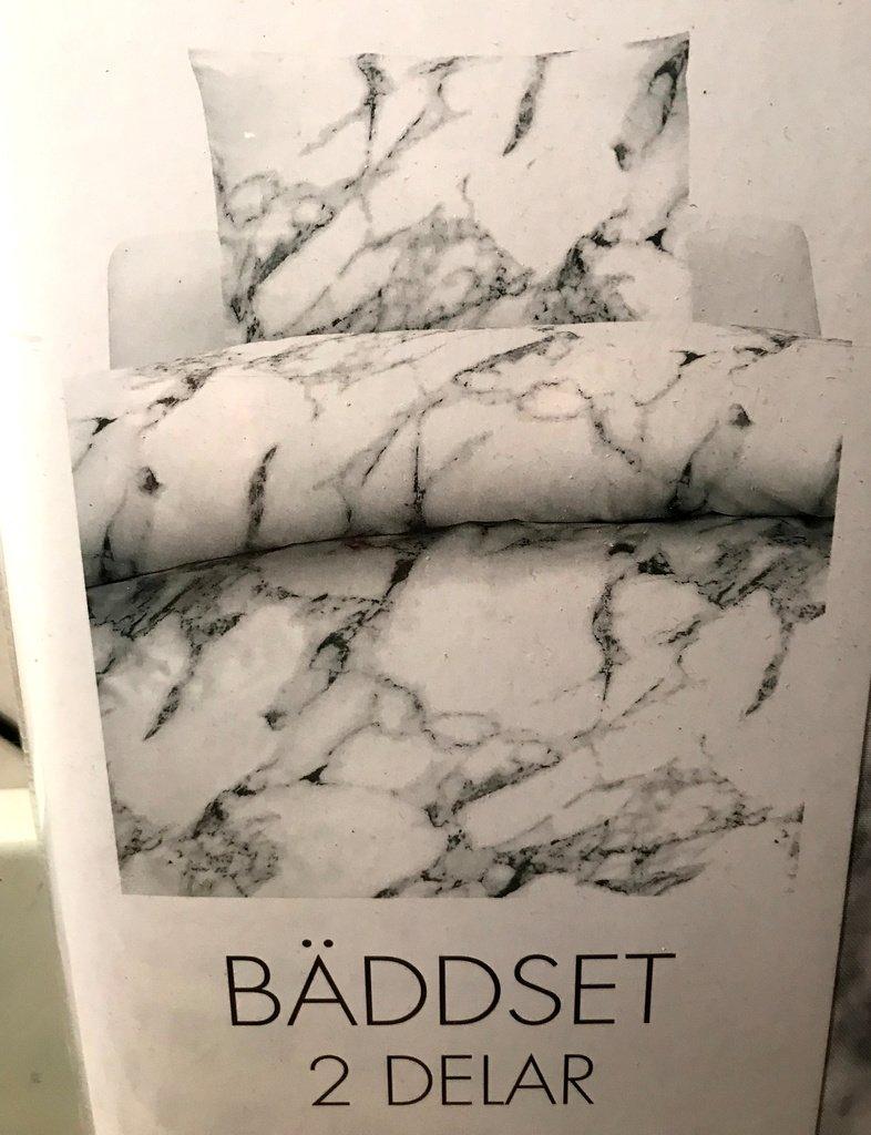 marmor påslakan