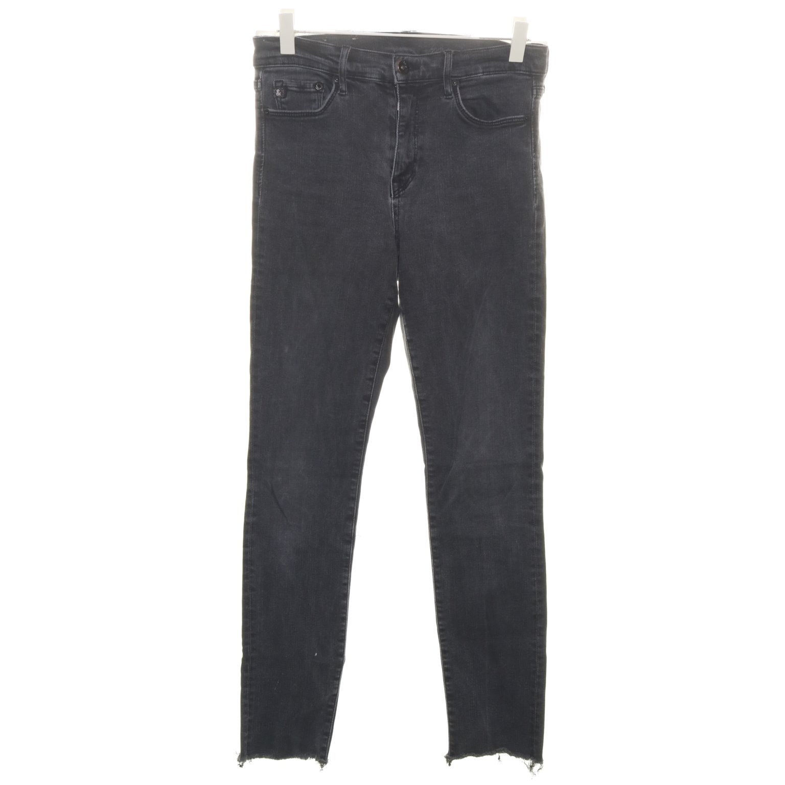 &Denim by H&M, Jeans, Strl: 28/32, Svart, Skinn