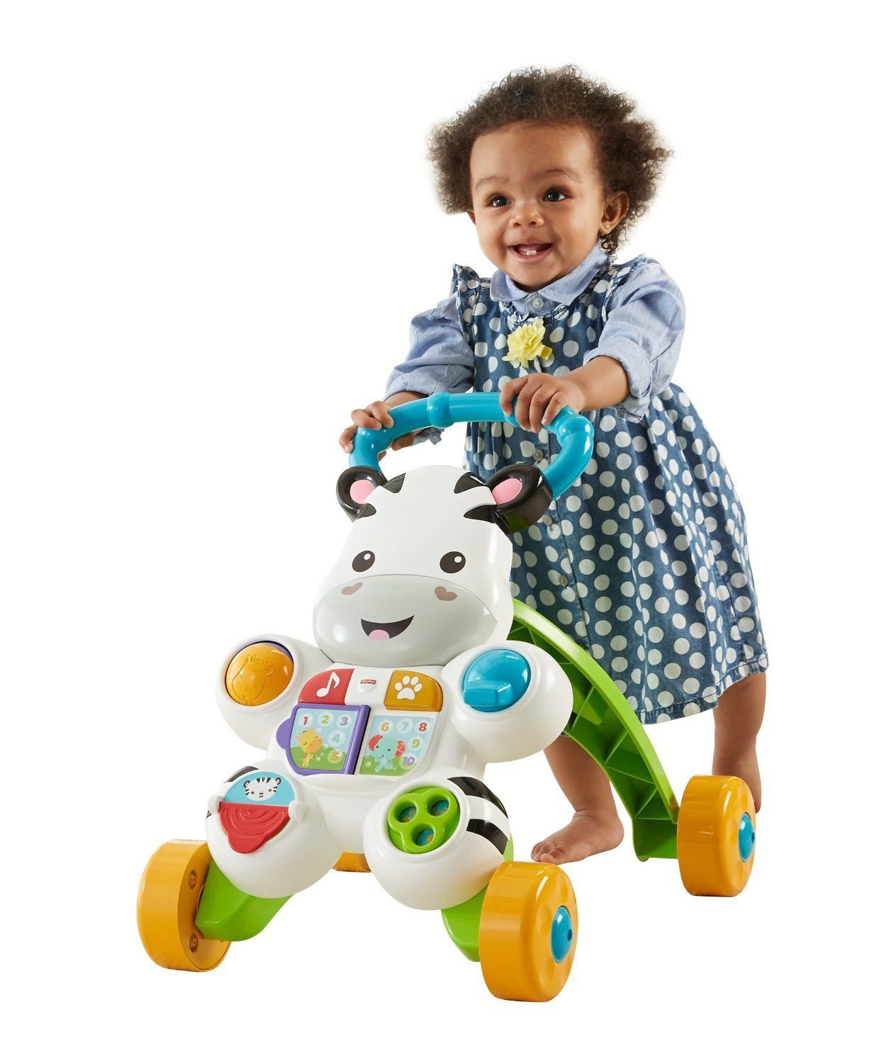 Fisher-Price Learn with Me Zebra Walker Walker Walker (DLF00) 055186