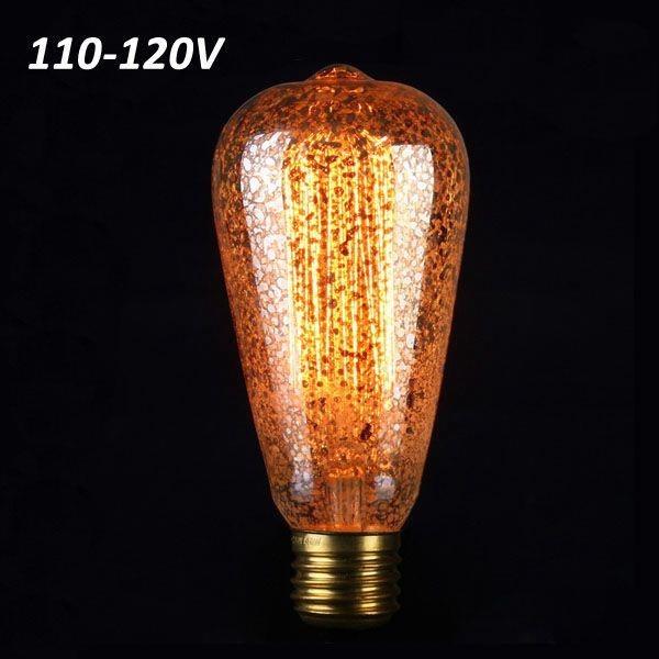 Glödlampa ST58 E27 40W Retro Edison