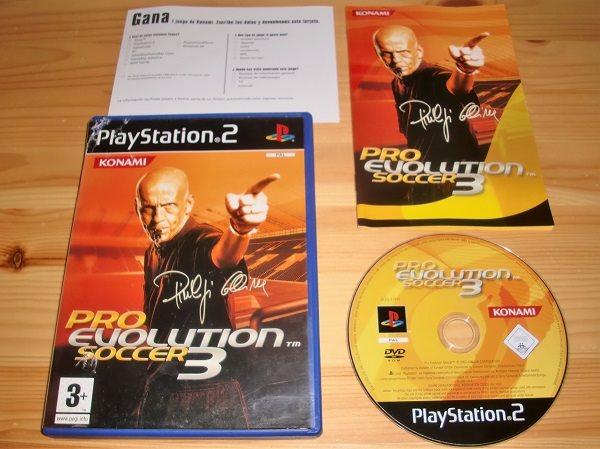 PS2: Pro Evolution Soccer 3 - PES 3 (292398055) ᐈ