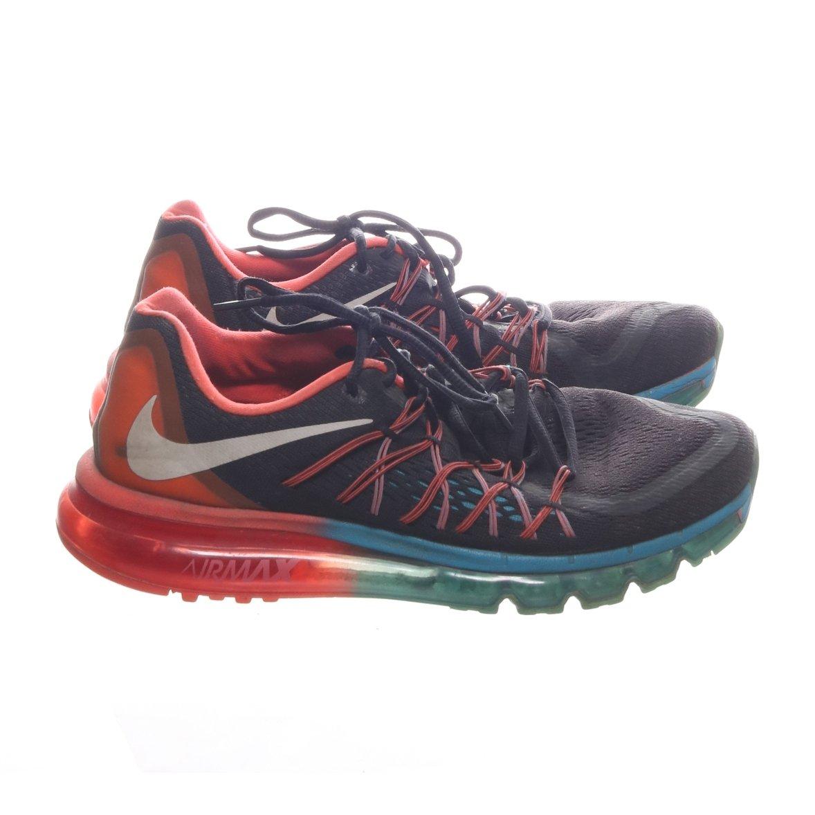 Nike, Träningsskor, Strl: 42, Air Max 2015 'Black Bright Crimson', Svart